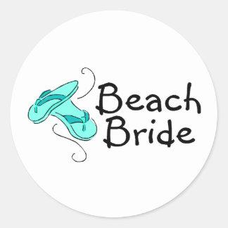 Beach Bride (Flip Flops) Sticker