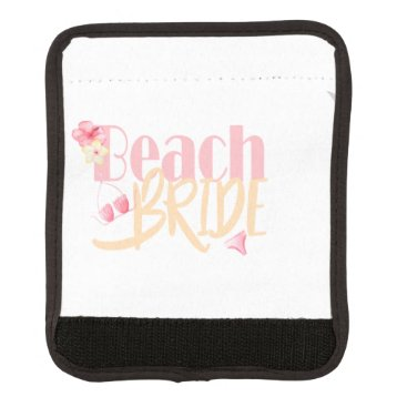 Beach Themed beach-Bride.gif Luggage Handle Wrap