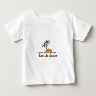 Beach Bride Infant T-shirt