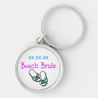 Beach Bride Keychain