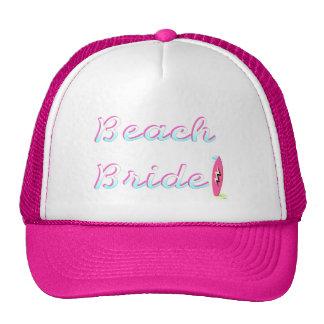 Beach Bride (Surfboard) Trucker Hat