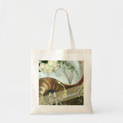 Beach Bridesmaid Tote Tote Bag