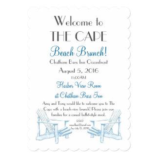 Beach Brunch Invitation