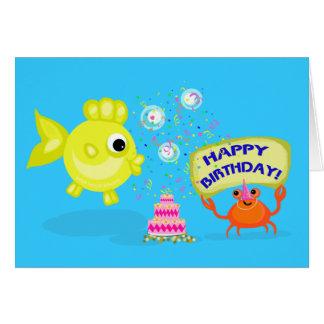 Beach Buddies 2 Birthday Card