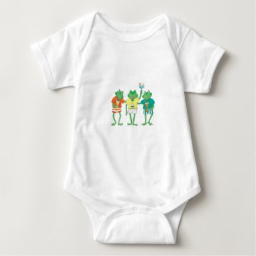 Beach Themed Beach Buddies Baby Bodysuit