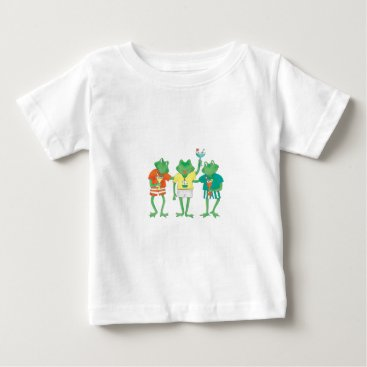 Beach Themed Beach Buddies Baby T-Shirt