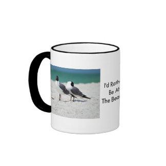 Beach Buddies Ringer Mug