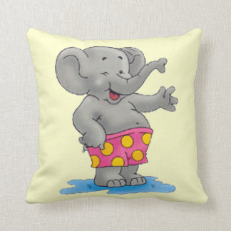 Beach Buddy Throw Pillow