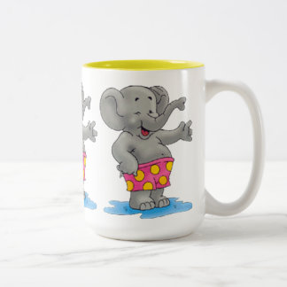 Beach Buddy Two-Tone Coffee Mug