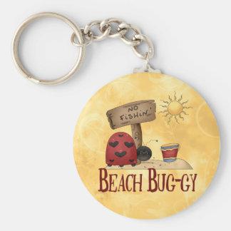 Beach Bug-gy Keychain