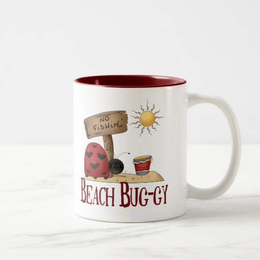Beach Bug-gy Mug