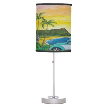 Beach bug lamp