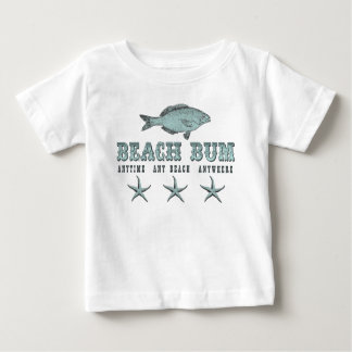 Beach Bum ~ Anytime Any Beach Anywhere T-Shirt