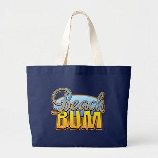 Beach Bum Canvas Bag