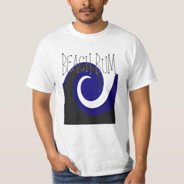 Beach Themed Beach bum beach waves T-Shirt