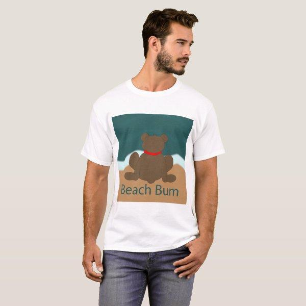 Beach Bum Bear T-Shirt