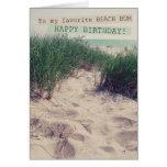 Beach Bum Birthday Greeting Card
