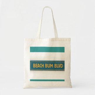 Beach Bum BLVD Tote Bag