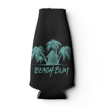 Beach Themed Beach Bum Bottle Cooler