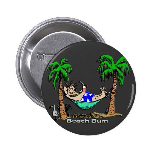 Beach Bum Buttons