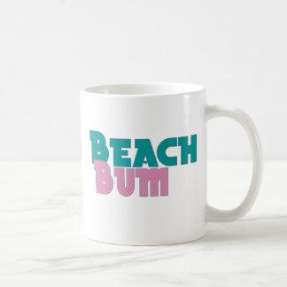 Beach Bum Classic White Coffee Mug