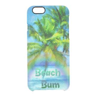 Beach Bum Clear iPhone 6/6S Case