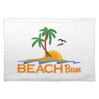 Beach Bum Cloth Placemat