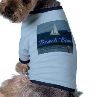 """Beach Bum"" Doggie/Kitty Tee Pet T-shirt"