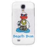 Beach Bum Duck Galaxy S4 Cover