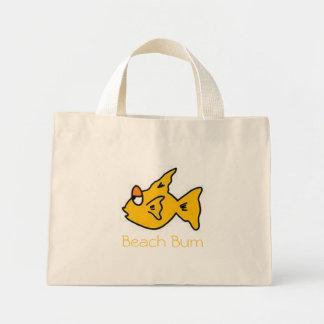 Beach Bum Fish Mini Tote Bag