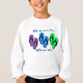 Beach Bum Flip Flops Sweatshirt
