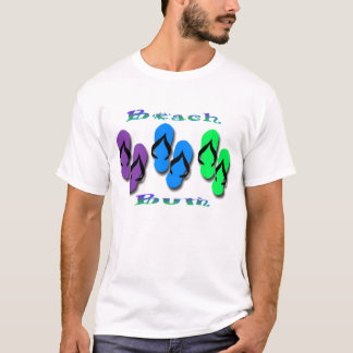 Beach Bum Flip Flops T-Shirt