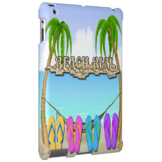 Beach Bum iPad Barely There Case-Mate Case