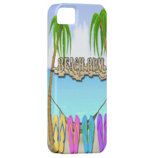 Beach Bum iPhone 5/5S Barely There Case