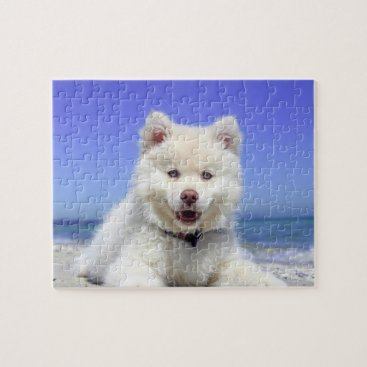 Beach Themed Beach Bum Jigsaw Puzzle