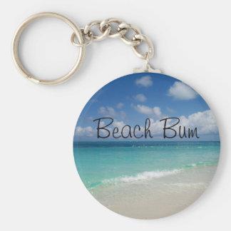 Beach Bum Keychain