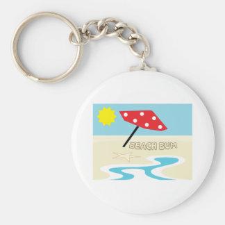 Beach Bum Keychains