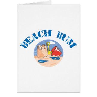 Beach Bum Kids Greeting Cards