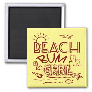 Beach Bum Magnet