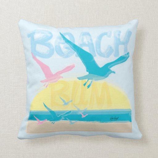 Beach Bum Pillow