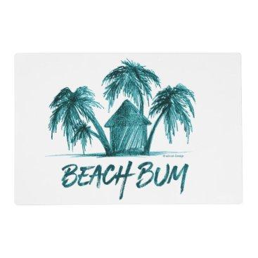 Beach Themed Beach Bum Placemat