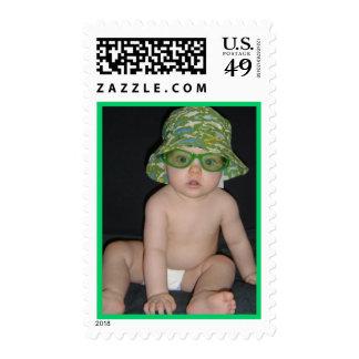 Beach Bum Postage Stamp