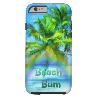 Beach Bum Rainbow Tough iPhone 6 Case
