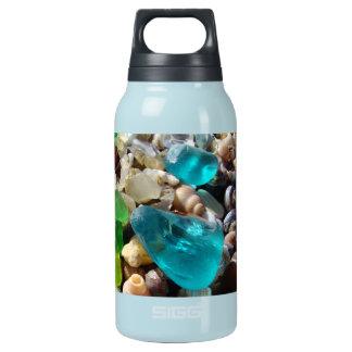 Beach Bum Sea Glass Agates Coast Thermos Water Bottle