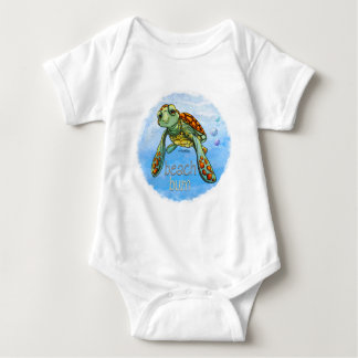 Beach bum Sea turtle baby T Shirts