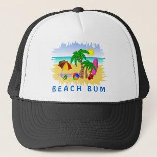 40c396d239290 Beach Bum Sun Sea and Surf Fun Colorful Hat
