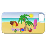 Beach Bum Sun Sea Surf iPhone 5 Barley There Case iPhone 5 Cases