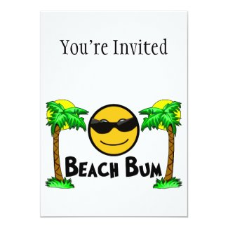 Beach Bum Sunshine & Palm Trees