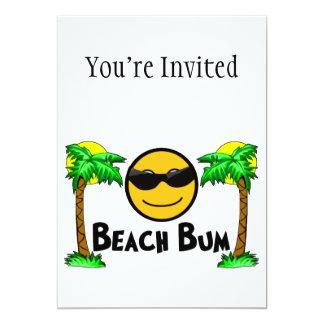 Beach Bum Sunshine & Palm Trees Card