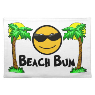 Beach Bum Sunshine & Palm Trees Placemat